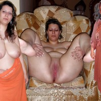 Persian Wife Undressed and Dressed