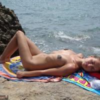 Russian Teen Nudist Sunbathing