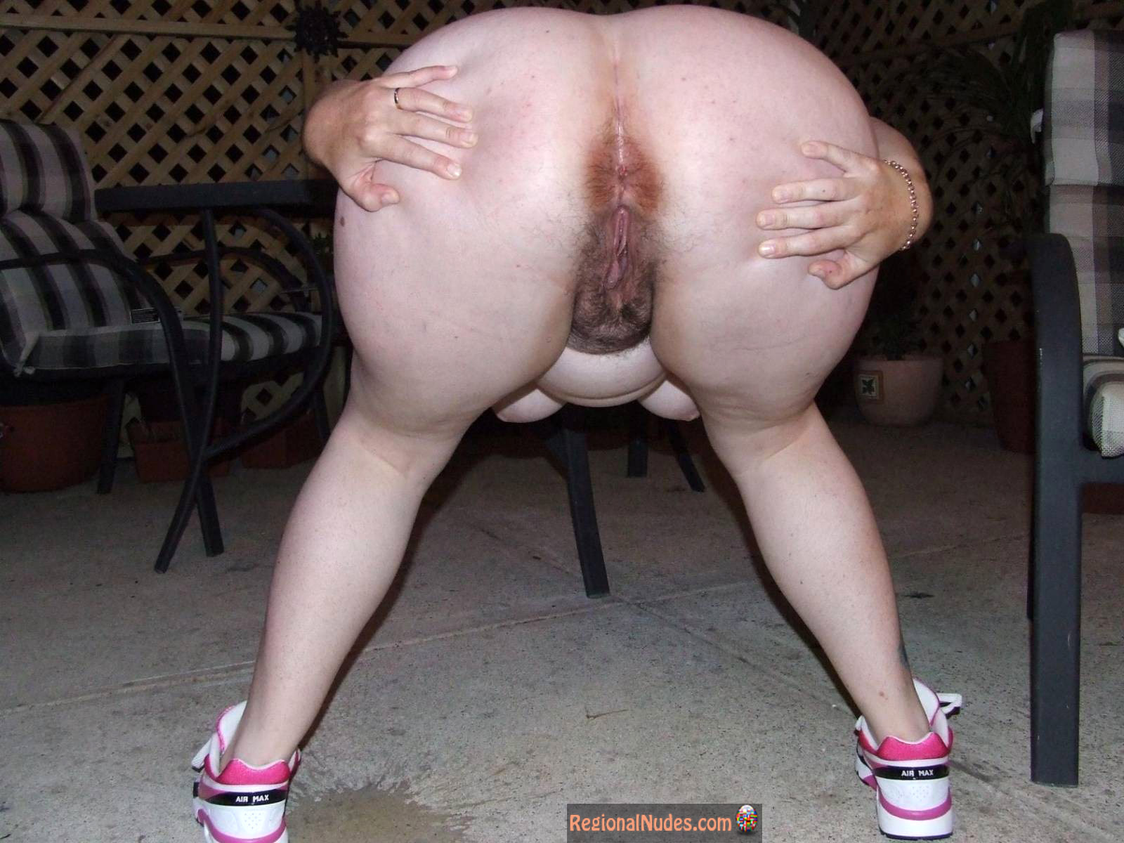 Bbw Ass Spread Nude