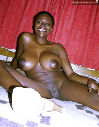 Beautiful Big Kenyan Tits Naked Woman