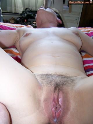 Naked Australian Auntie Creampie Cunt