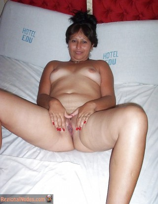 Peruvian Slut Naked in Hotel Room