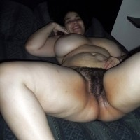 Nude Fat White Cuban Woman Hairy Wet Cunt