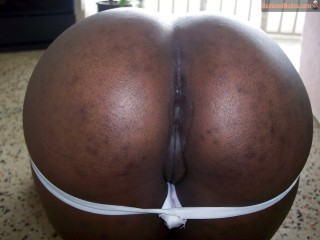 Outstanding Black Round Booty Ghanaian Pussy