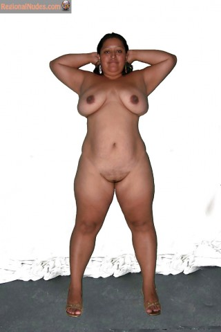 Chubby Nude Honduran Mature Woman