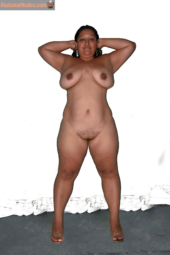 Chubby Nude Honduran Mature Woman  Regional Nude Women -1024