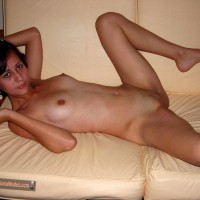 Nude Chilean Teen Girl on the couch