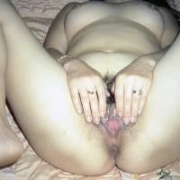 Naked North Korean Female Spreading Pussy