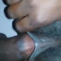 Fat Ugandan Woman Pulling Long Labia During Sex