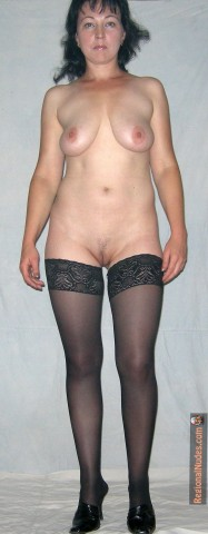 Mexican Wife Nude Full Frontal with Stockings