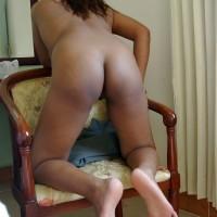 Cambodian Naked Girl Ass Kneeling