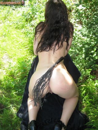 Nasty Girl Naked Crawling in Switzerland's Nature