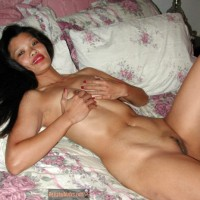 Nude Cambodian Girl in Bed