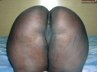 Nude Gabonese Ass Bent Over Pussy