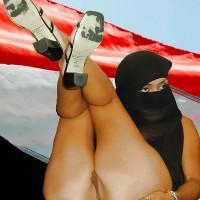 Yemeni Pussy Shaved Burka Woman