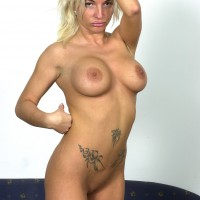 Hungarian Bitch Posing Nude
