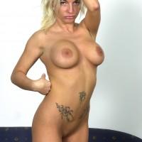 Hungarian Bitch Posing Nude