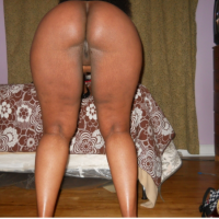 Nice Naked Somalian Woman Booty Bent Over
