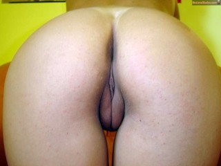 Nice Romanian Booty Bent Over Vulva