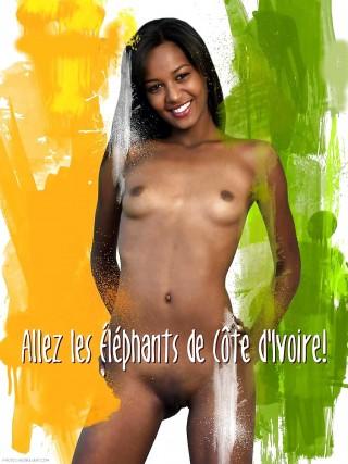 Ivory coast men nude consider, that