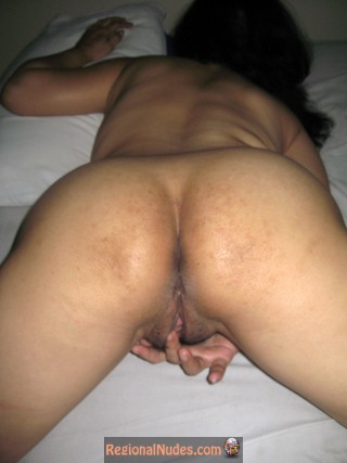 Slut Wife Ass Touching Pussy from Thailand