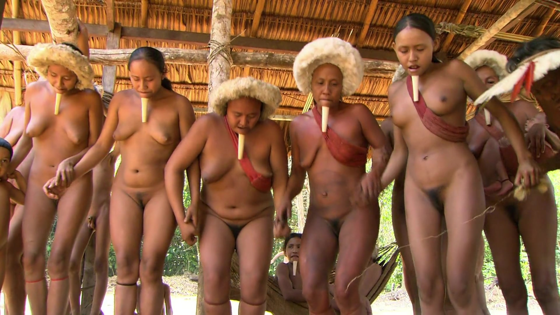 Nude tribesmen exposed photo