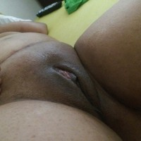 Fat Mature Dominican Shaved Pussy