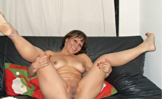 Naked Colombian Wife Spreading Legs