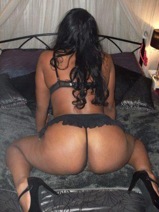 Hot Gabonese Woman Ass with Thong