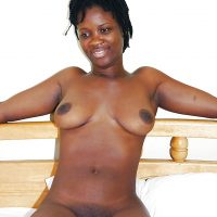 Nude African Girl from Accra Ghana