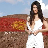 Beautiful Asian Model from Kyrgystan Undressing Breasts
