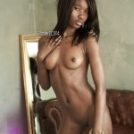 Beautiful Naked Sudanese Girl Slim Body