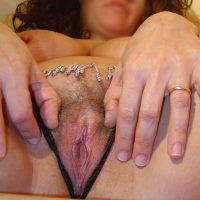 Mature Hairy Italian Pussy Spreading from Rome