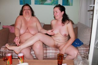 Nude Bulgarian Fat Mother and Daughter