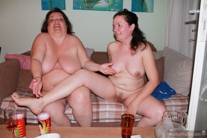 Chubby Mother And Daughter Nude