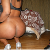 Somali Woman Squatting Brown Naked Ass Cheeks
