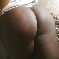 Sudanese Beautiful Black Round Female Booty from Omdurman