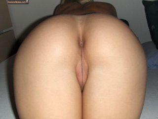 Swedish Babe Hot Ass Bald Pussy Up Close
