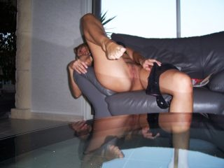 Undressing Belgian Pussy Mirroring on Table