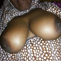 Black Arabian Ethiopian Breasts Mature