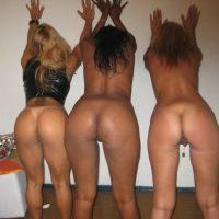 Brazilian Naked Girls Butts Group