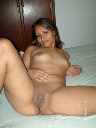 Indian Desi Wife Naked in Bed