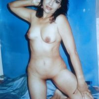 Retro Photo of Naked Ecuadorian Woman