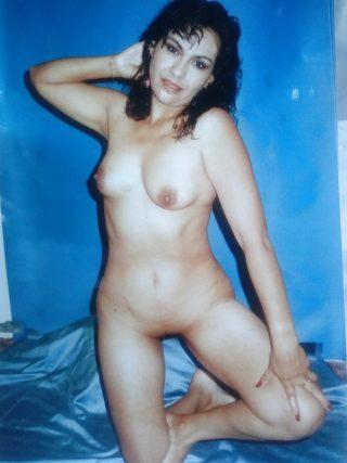 Retro Photo of Naked Ecuadorian Woman