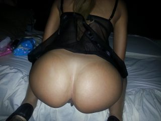 Round Beautiful Naked Butt Cheeks from Casablanca Morocco