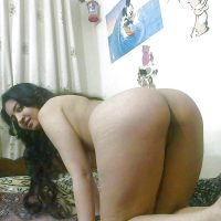 Yemeni Nude Girlfriend Ass on all fours