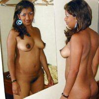 Brown Nicaraguan Woman Naked