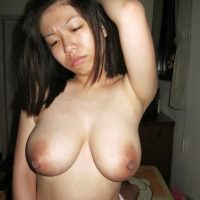 Topless Taiwanese Girl with Big Tits