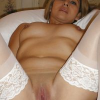 Naked Hot Guatemalan Wife in Bed