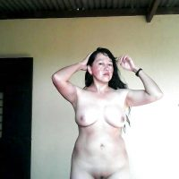 Guatemalan Wife Naked at Home